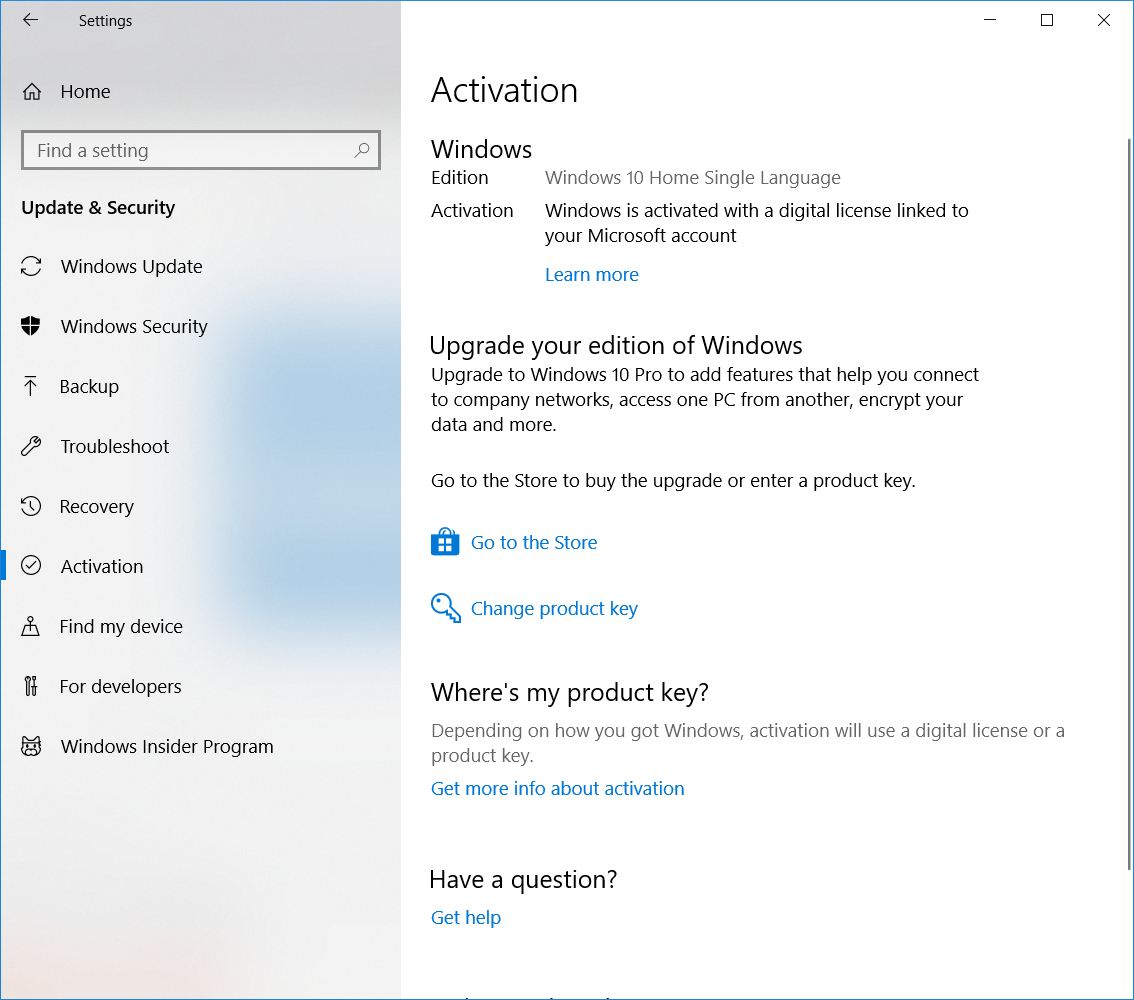 How to Recover preinstalled Genuine windows Product key